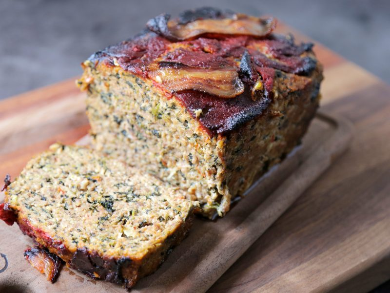 Andrew Zimmern's recipe for meatloaf