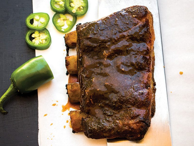 5-spice pork ribs