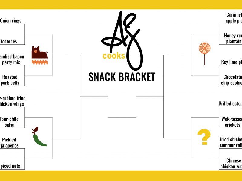 AZ Cooks snack bracket