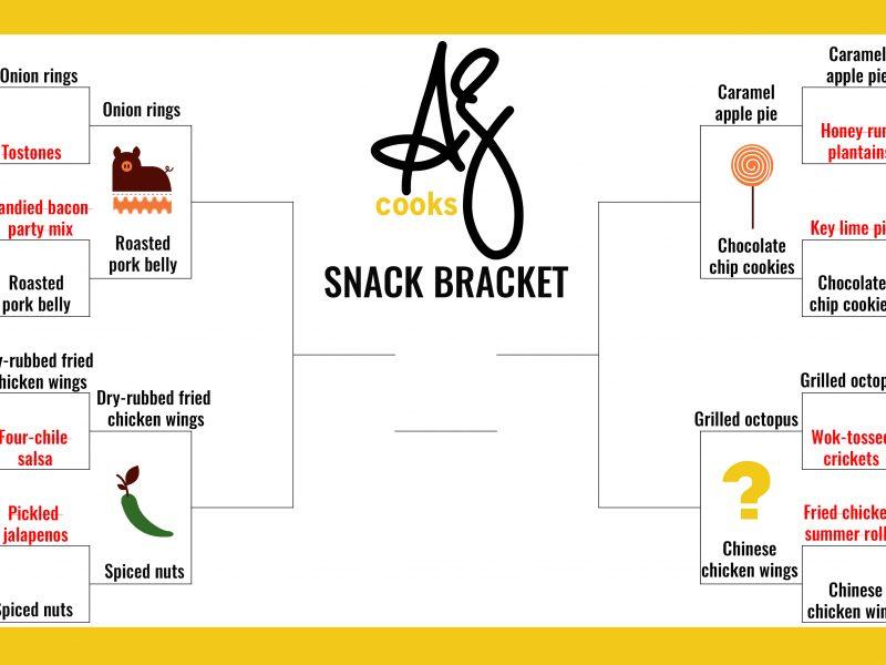 AZ Cooks snack bracket round 2|AZ Cooks snack bracket round 2