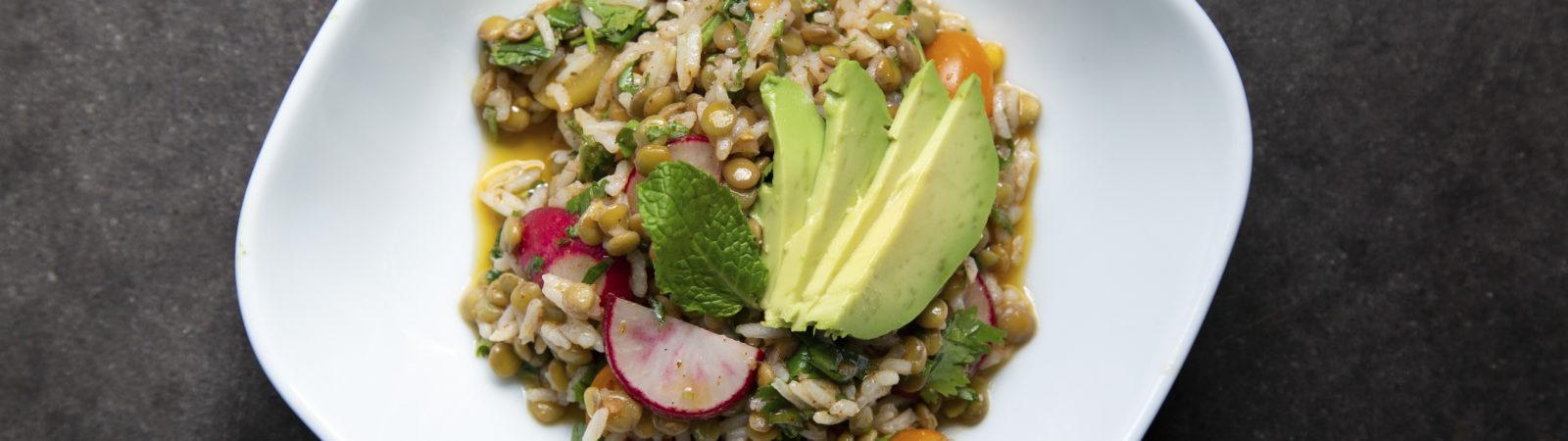 Rice and Lentil Salad