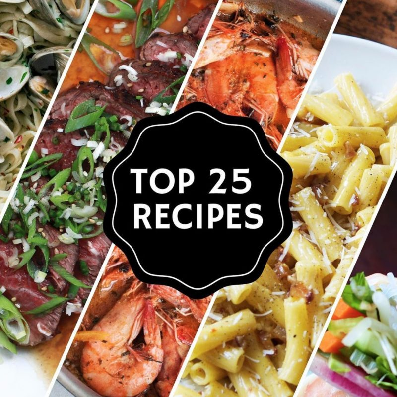 ANDREW'S TOP 25 RECIPES