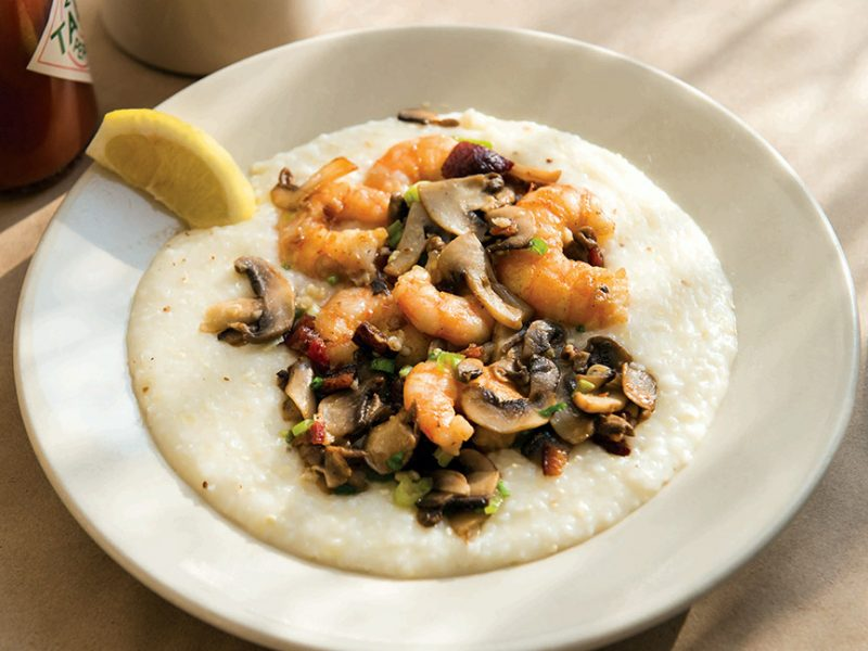 Shrimp and Grits from Hominy Grill