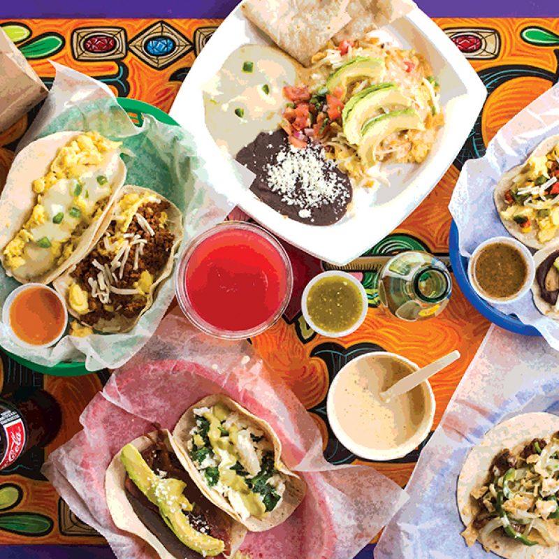 Taco Deli's Migas Tacos|America's Best Breakfasts