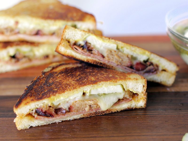 Andrew ZImmern Recipe Cuban Grilled Cheese