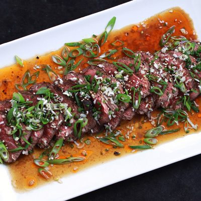 Andrew Zimmern Cooks Beef Tataki Recipe|Andrew Zimmern's Japanese Beef Tataki