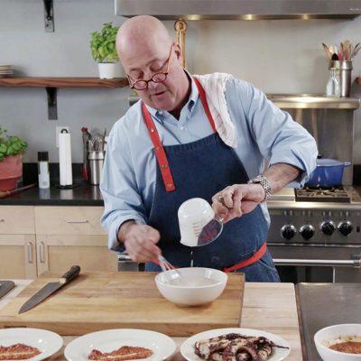 Andrew Zimmern Cooks Dijon Mustard Vinaigrette|Andrew Zimmern's Recipe for Dijon Mustard Vinaigrette