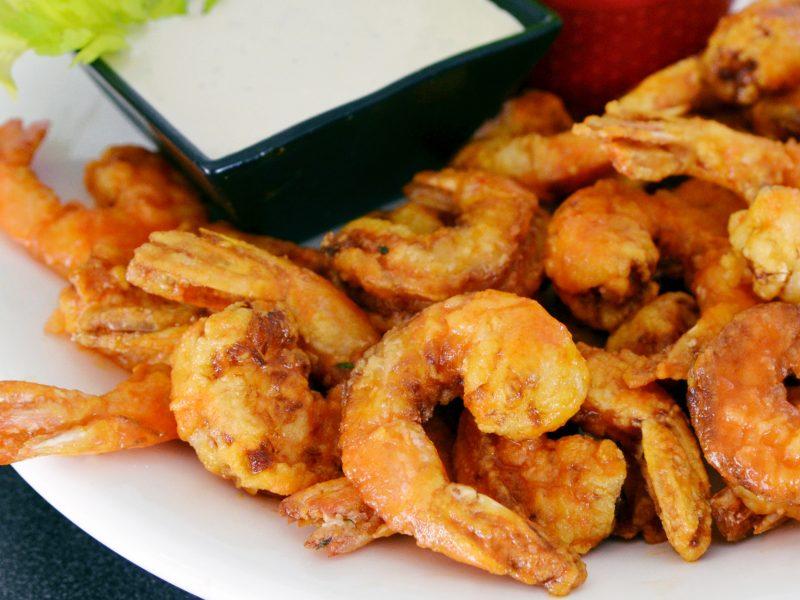 Andrew Zimmern Firecracker Shrimp