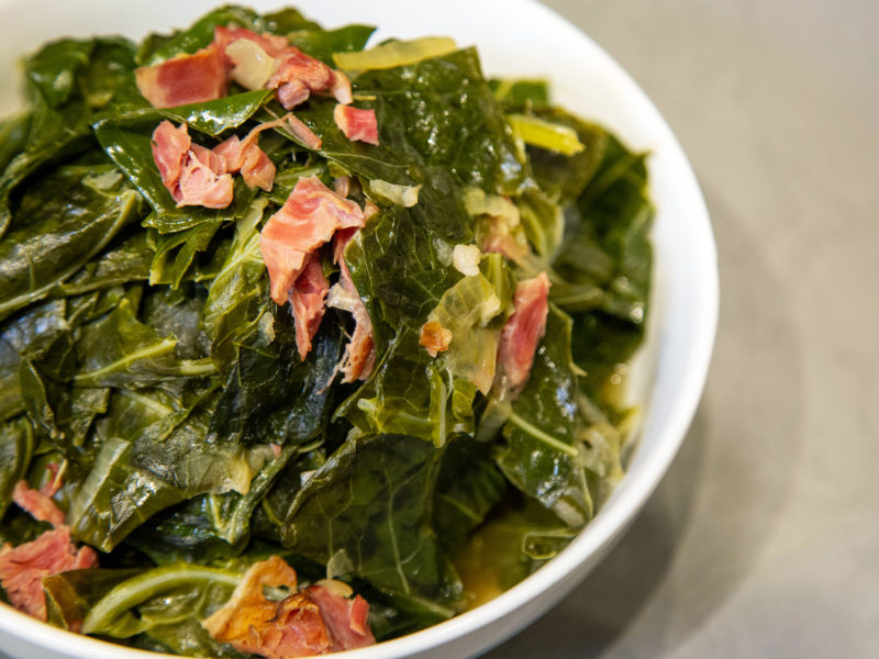 Andrew Zimmern Recipe Collard Greens