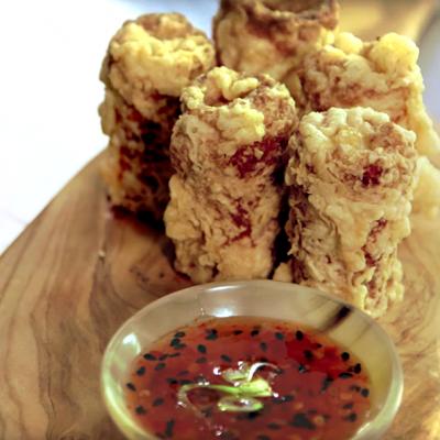 Andrew Zimmern Recipe Crispy Crab Rolls|Andrew Zimmern Recipe Crispy Crab Rolls
