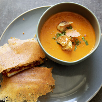 Andrew Zimmern Recipe Grilled Cheese Tomato Soup