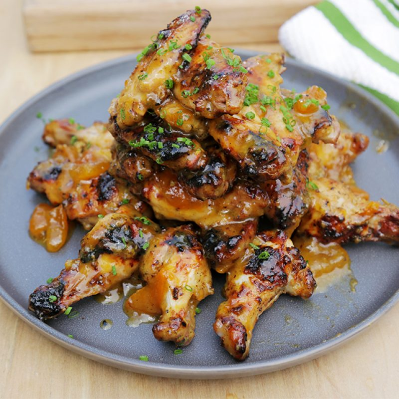 Andrew Zimmern Recipe Grilled Chicken Wings|AZ Grilling Chicken Wings