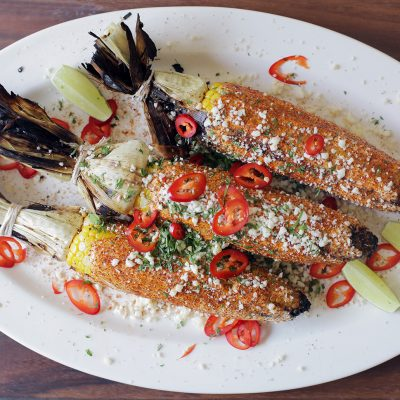 |Andrew Zimmern Recipe Grilled Corn Elote