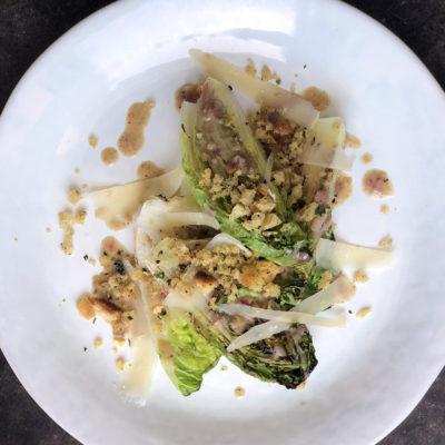 Andrew Zimmern Recipe Grilled Gem Lettuce Salad