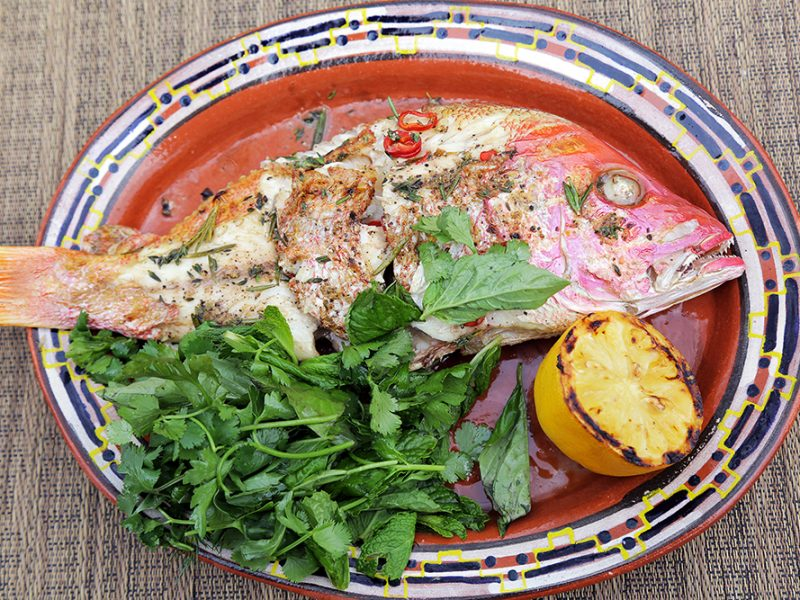 Andrew Zimmern Recipe Grilled Red Snapper