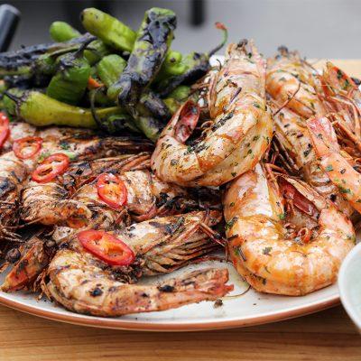 Andrew Zimmern Recipe Grilled Shrimp|Grilled shrimp skewers|Andrew Zimmern's grilled shrimp|