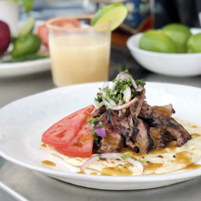 Andrew Zimmern Recipe Grilled Skirt Steak with Rum Glaze