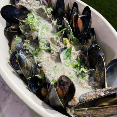Andrew Zimmern Recipe Louis Diat Mussels