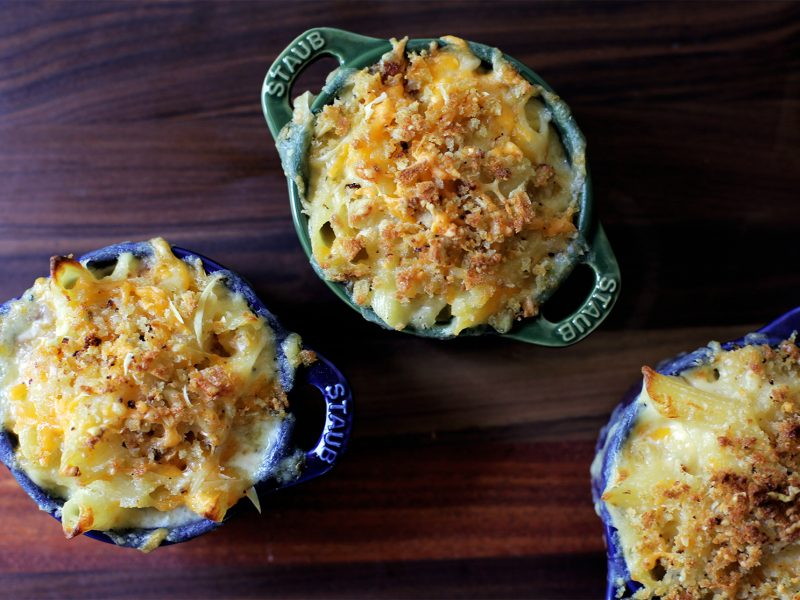 Andrew Zimmern Recipe Matt Jennings Mac and Cheese