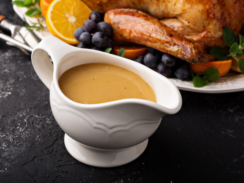 Andrew Zimmern's Recipe for Pan Gravy