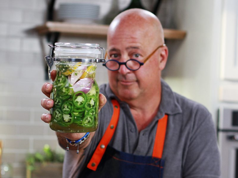 Andrew Zimmern Recipe Pickled Jalapenos