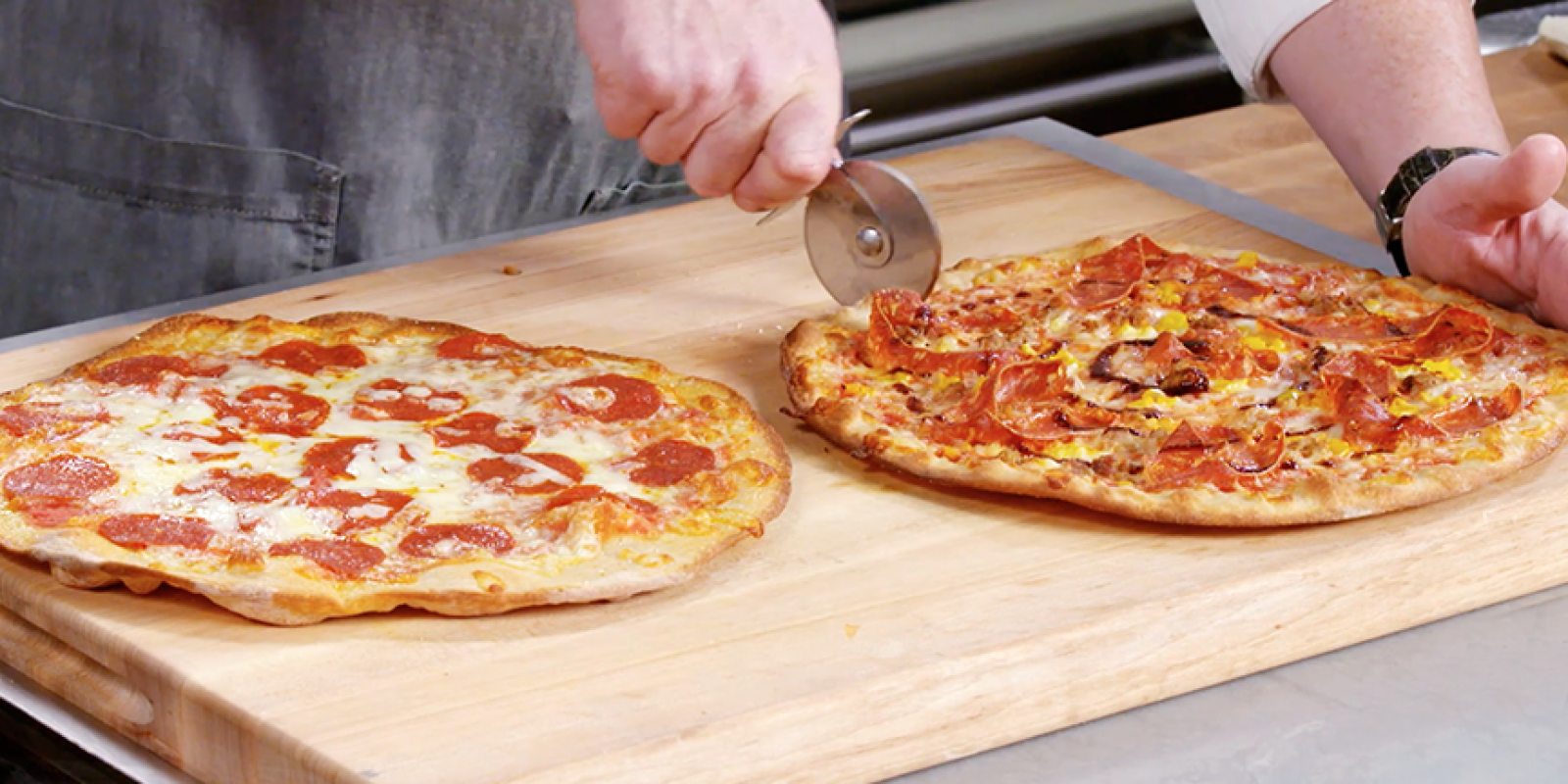 Andrew Zimmern Cooks Homemade Pizza With Peter Campbell Andrew Zimmern