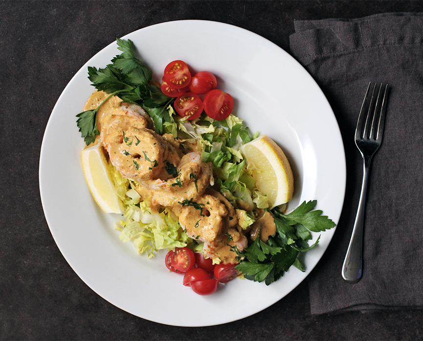 Andrew Zimmern Recipe Poached Shrimp Remoulade