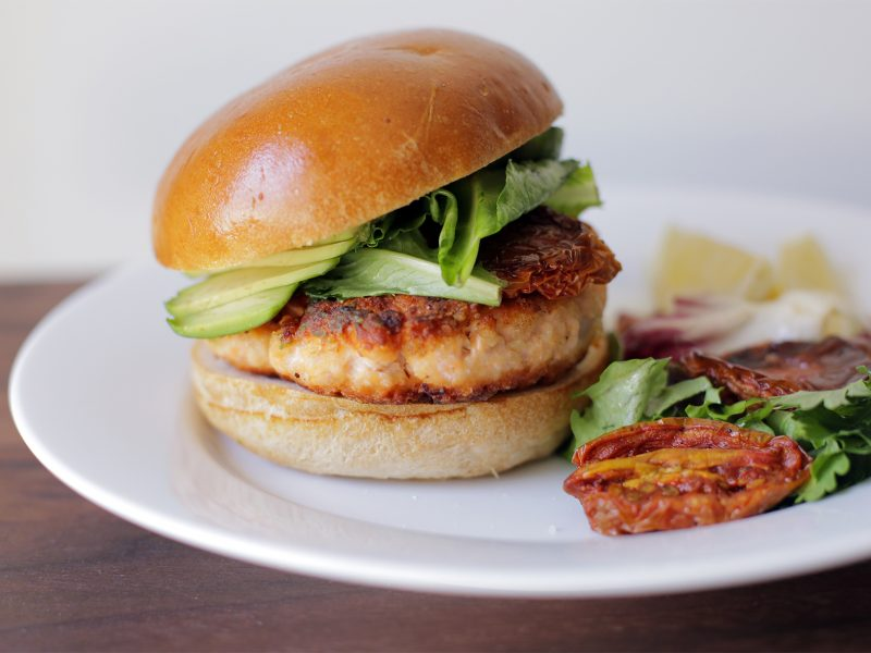 Andrew Zimmern Recipe Salmon Burger|
