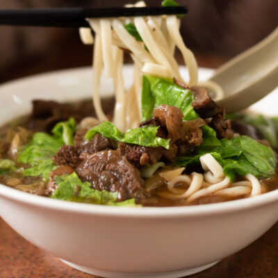 Andrew Zimmern's Recipe for Taiwanese Beef Noodle Soup