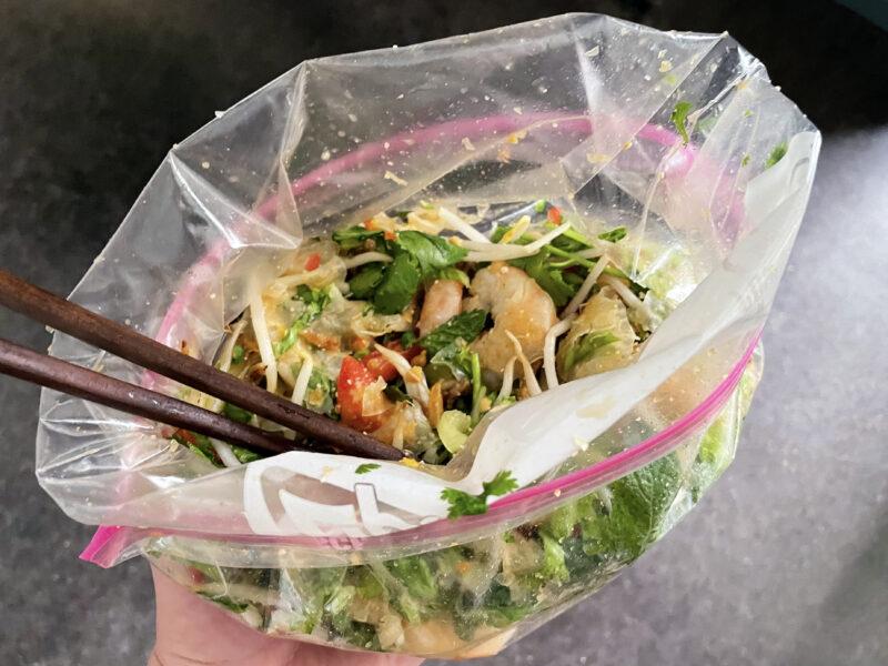 Andrew Zimmern Recipe Vietnamese Salad in a Bag