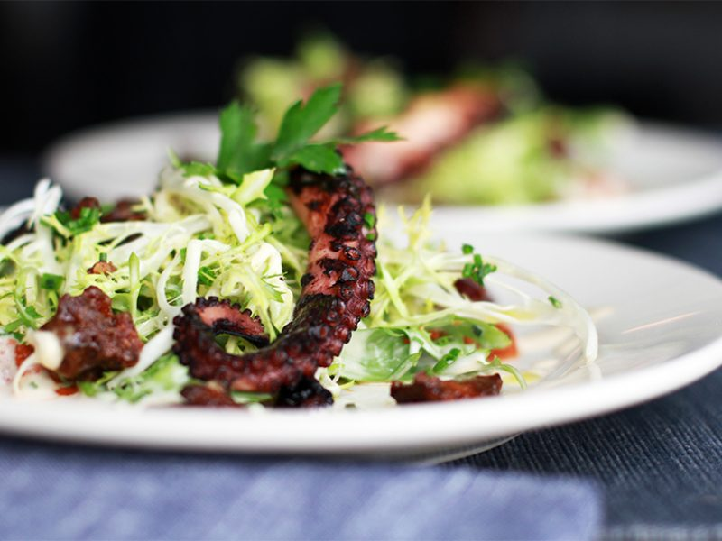 Andrew Zimmern's Grilled Octopus Salad