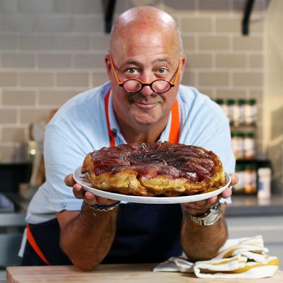 Andrew Zimmern with Tarte Tatin Recipe|Andrew Zimmern Cooks: Apple Tarte Tatin