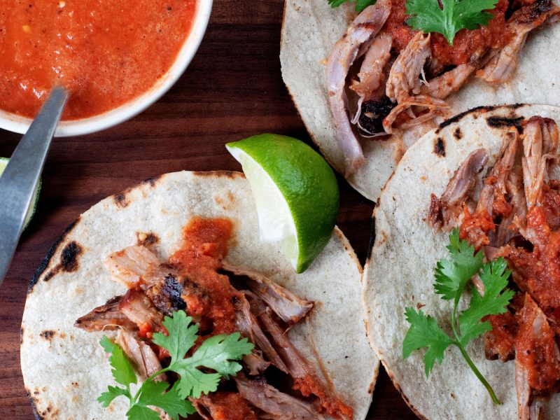 Andrew-Zimmern's-Achiote-Pork-Tacos
