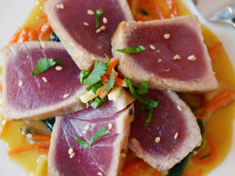 Andrew Zimmern's Ahi Tuna Curry