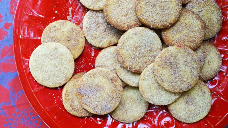 Andrew Zimmern's recipe for biscochitos