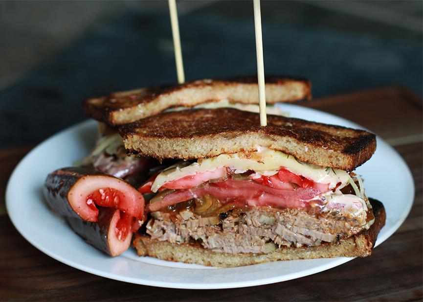 Andrew Zimmern's Brisket Sandwich Recipe