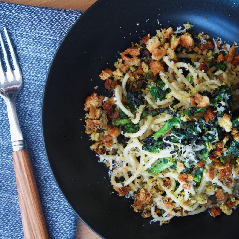 Andrew Zimmern's Broccoli Rabe Pasta