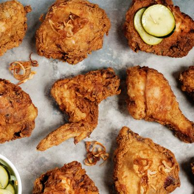 Andrew Zimmern's Buttermilk Fried Chicken