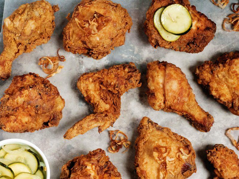 Andrew Zimmern's Buttermilk Fried Chicken