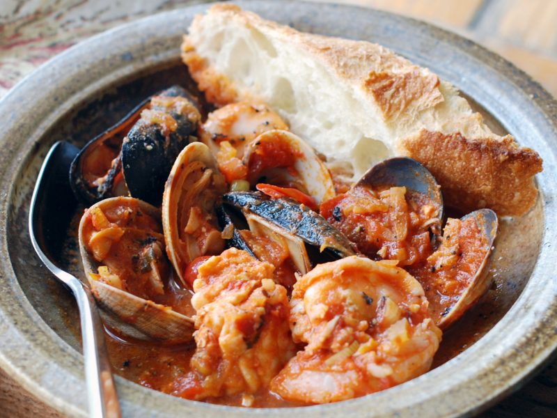 Andrew Zimmern's Cioppino recipe