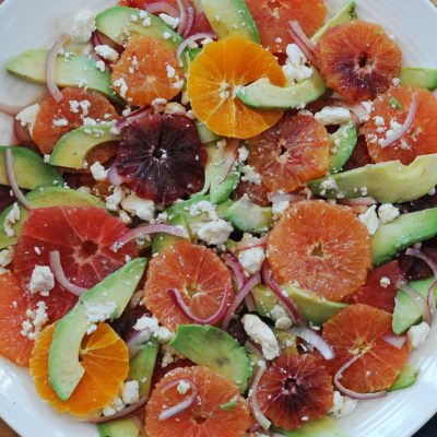 Andrew Zimmern's Citrus Avocado Salad