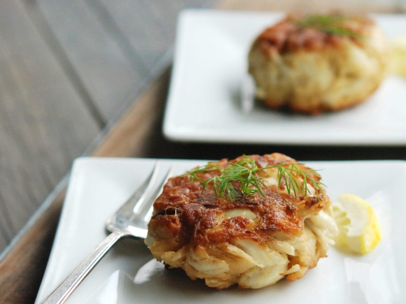 Andrew Zimmern's Crab Cakes
