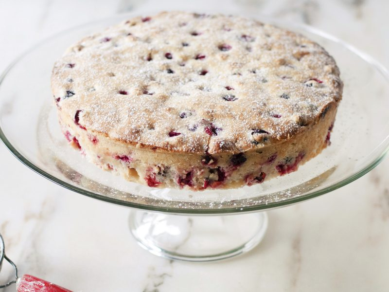 Andrew Zimmern's Cranberry Cake