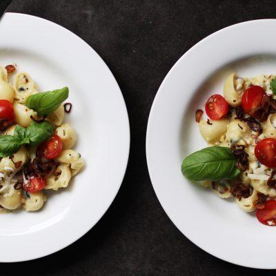 Andrew Zimmern's Creamy Corn Pasta
