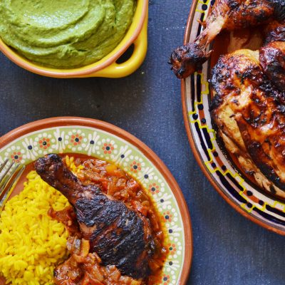 Andrew Zimmern's Cuban-Style Grilled Chicken