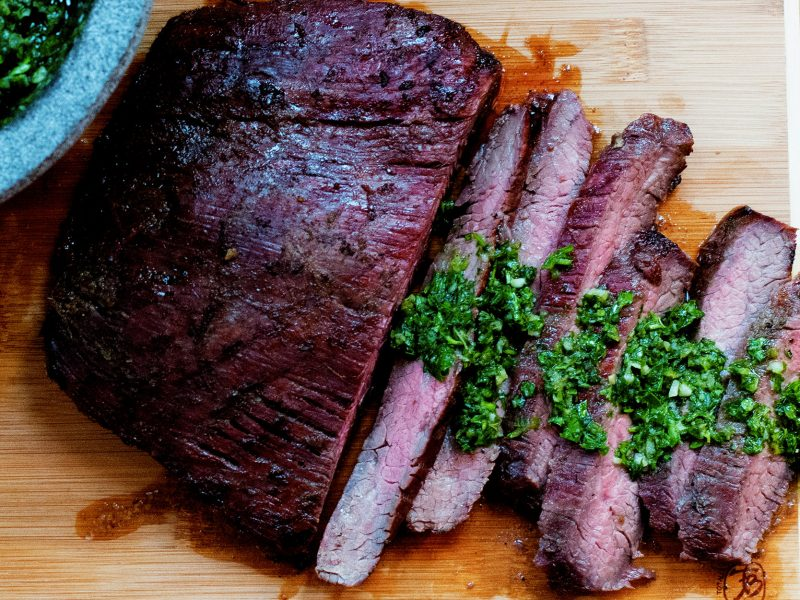 Andrew-Zimmern's-Flank-Steak-with-Chimichurri
