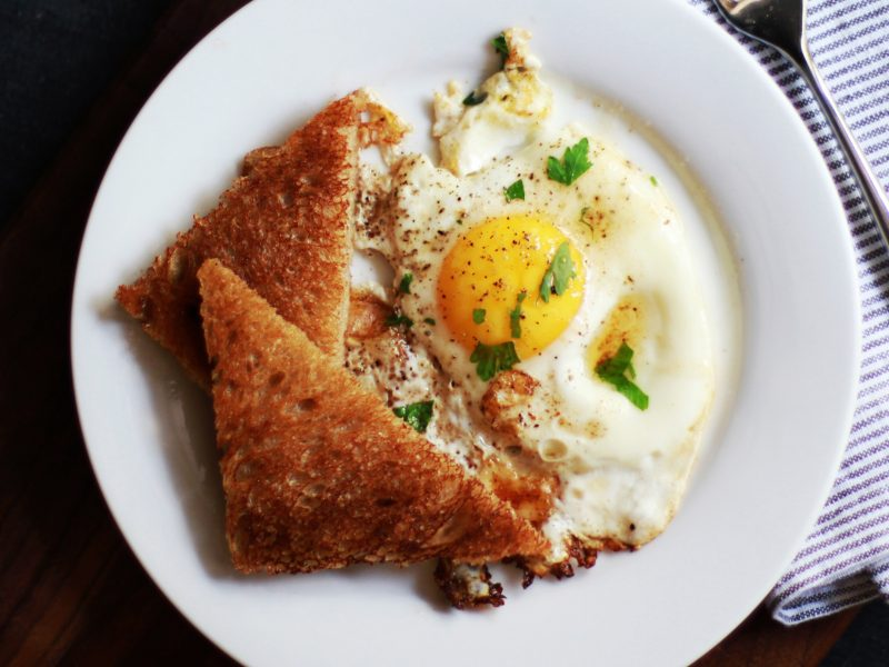 Andrew Zimmern's recipe and tips for fried eggs