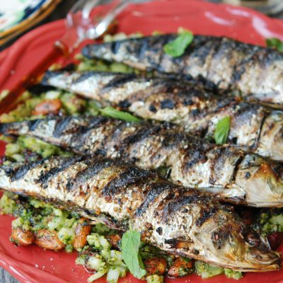 Andrew Zimmern's Grilled Sardines