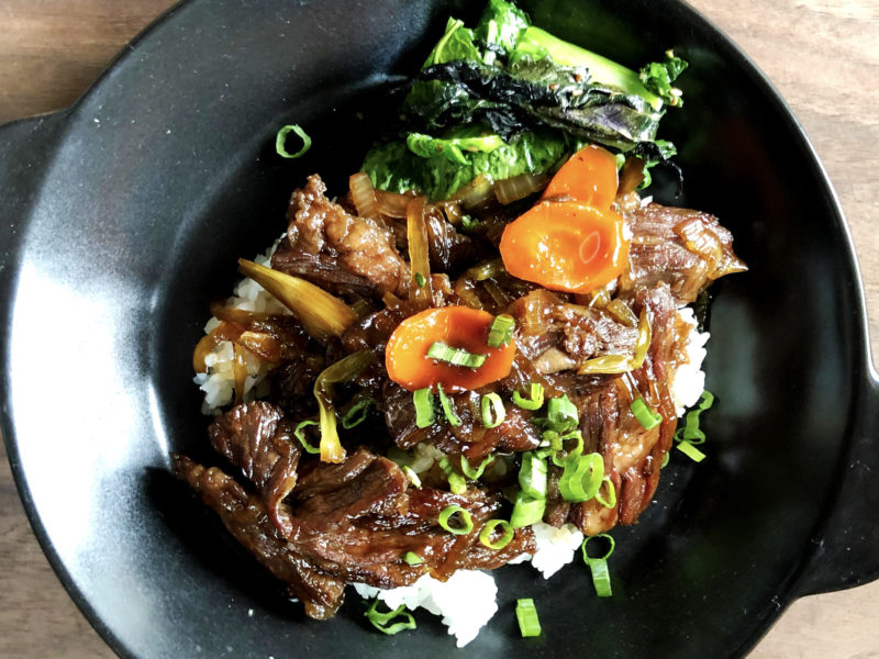 Andrew Zimmern's Gyu Don Recipe