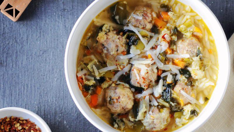 Andrew Zimmern's Italian Wedding Soup